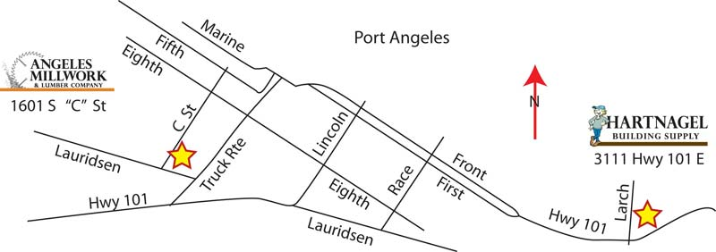 Angeles & Hartnagel locations