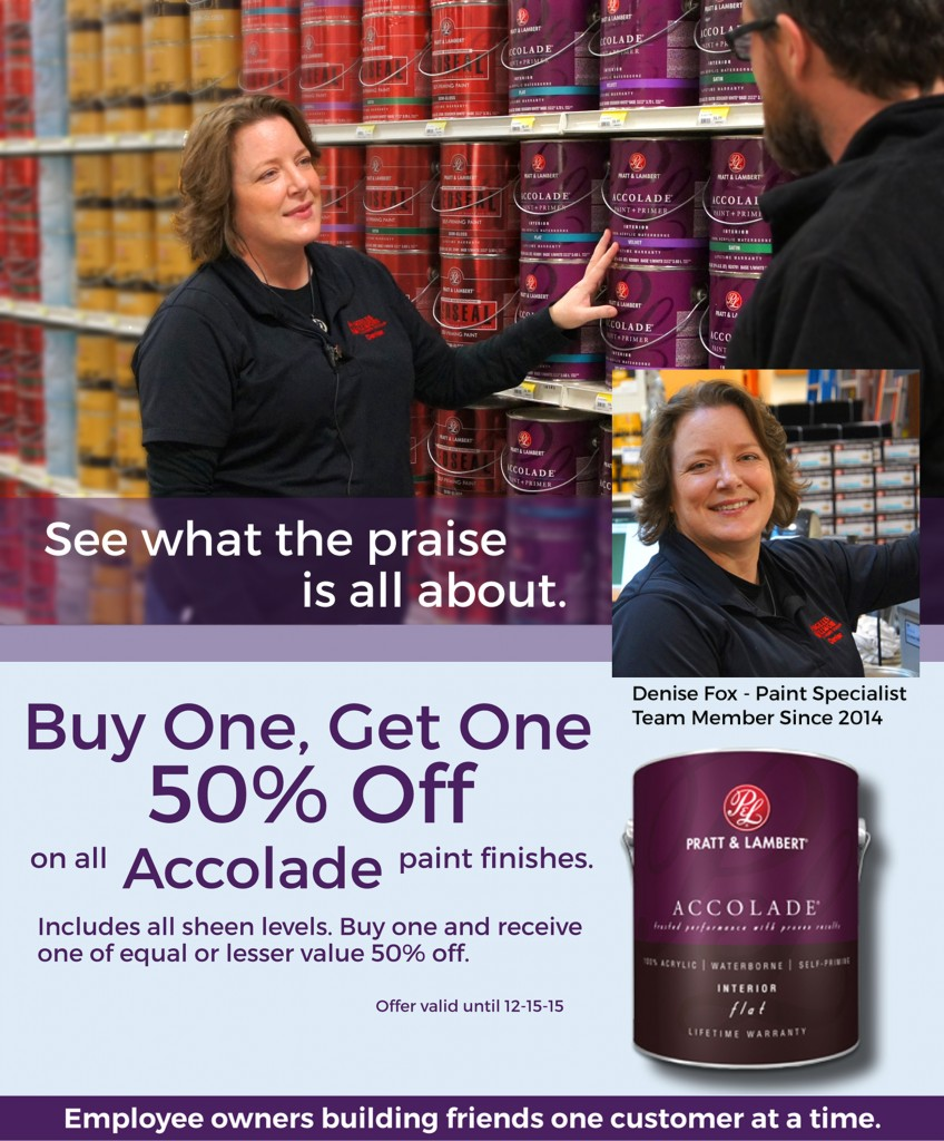 Accolade, Paint, BOGO, Port Angeles, Sequim, Home Depot, Thomas