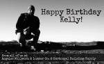 Happy Birthday to Kelly Fox!