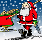 Christmas, Port Angeles, Sequim, lumber, hardware, Hartnagel Building Supply, Angeles Millwork & Lumber