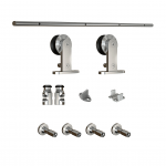 Stainless Sliding Door Hardware, Angeles Millwork & Lumber Co., Hartnagel Buiding Supply, Port Angeles, Sequim, Thomas, hardware, lumber, Home Depot