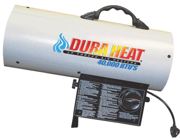 Forced Air Propane Heater >> DuraHeat Propane Construction Heater GFA40