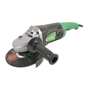 """Hitachi 7"""" angle grinder for rent at Angeles rentals in Port Angeles, Washington"""