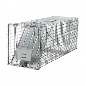 Large pest trap for racoons, large rats for rent at Angeles rentals in Port Angeles, Washington