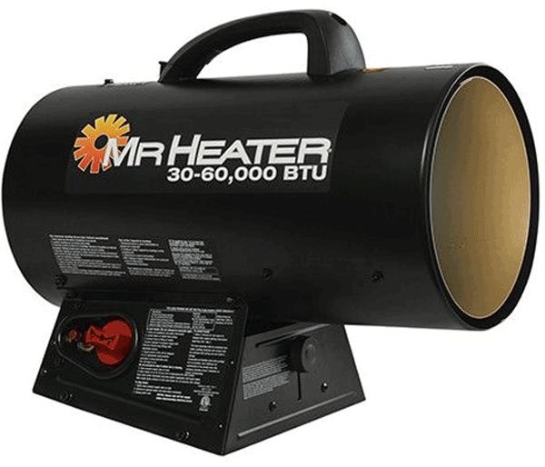 Mr.Heater Forced Air Propane Heater