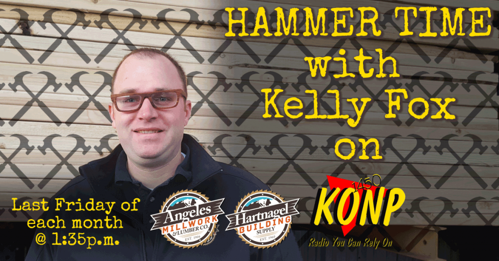 Port Angeles KONP AM1450 Kelly Fox Friday Show Hammer Time
