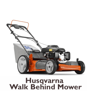 Husqvarna walk behind mower for rent at Angeles Millwork & LUmber Co. in Port Angeles, WA