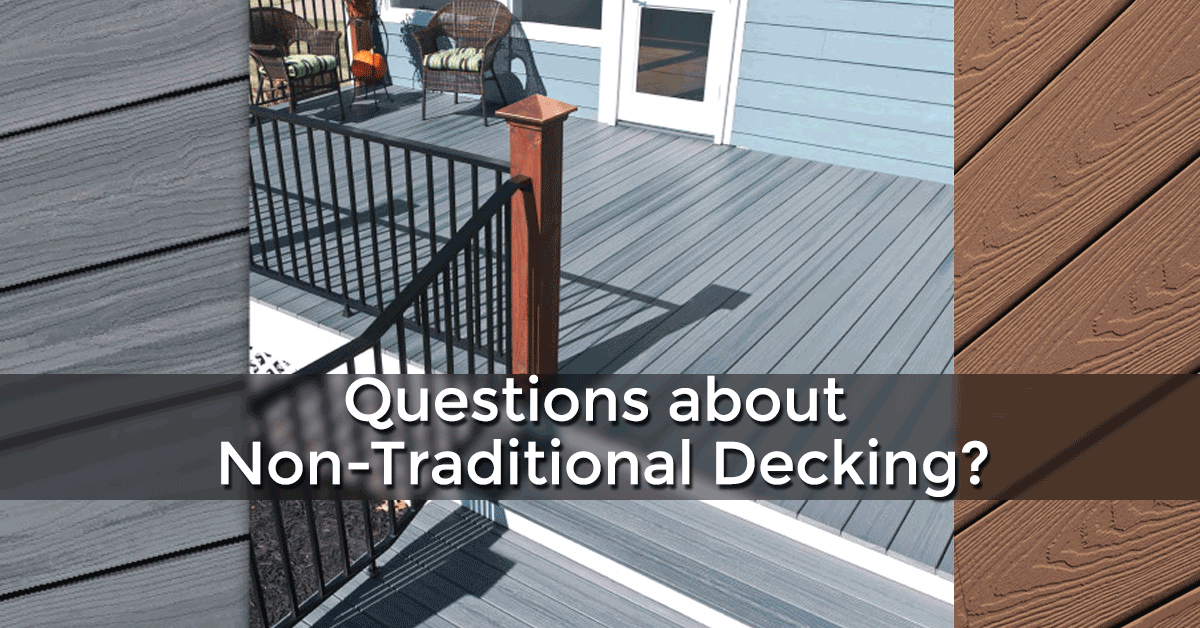 Wood Decking: Non Wood Decking Options