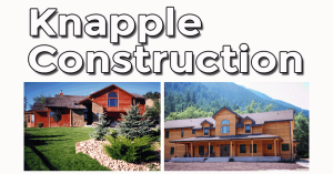 Knapple Constrcution of Port Angeles with two homes built in the mountains