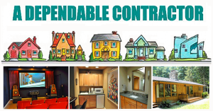 Logo and remodel projects from A Dependable contractor