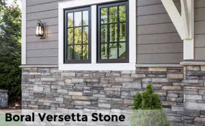 Siding for Mortarless stone veneer panels