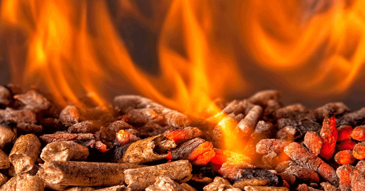 Clean Burn Wood Pellet Fuel