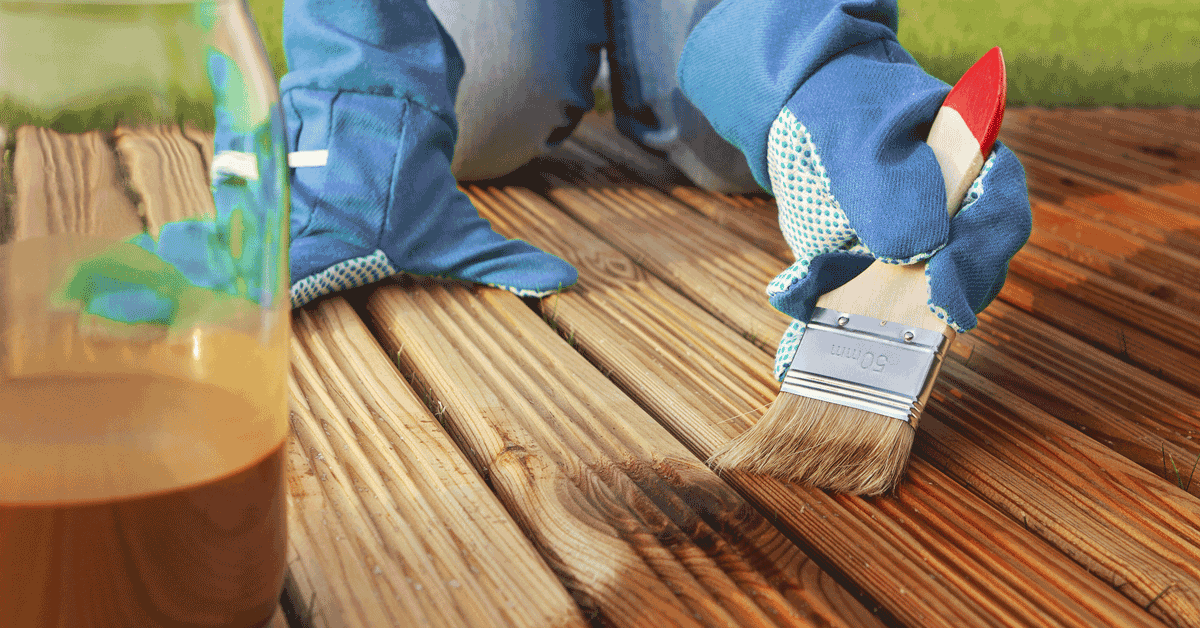 How to Properly Stain a Deck
