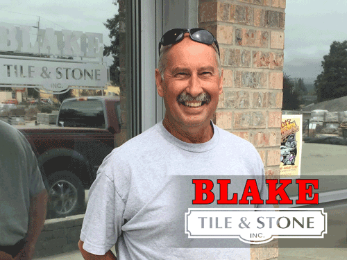 Thank You To Bill Francis From Blake Tile And Stone For