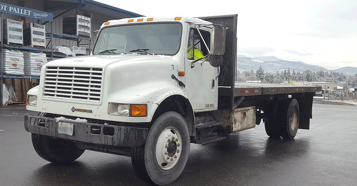 FOR SALE – 1992 International 4900 CDL Truck