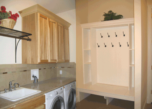 Laundry and Mudroom