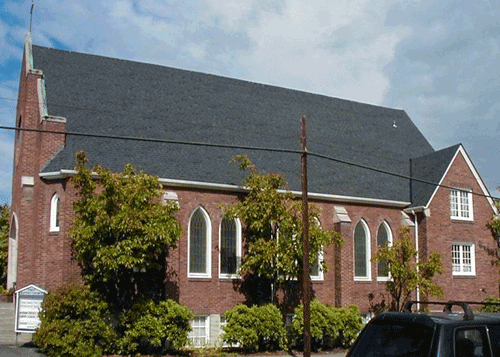 Baptist Church - Architectural Shingles