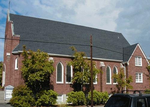Baptist Church - Architectural Shingles