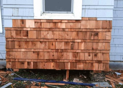 Exterior Siding Remodel with Cedar