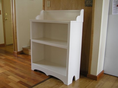 Old Fashioned Bookcase