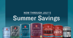 Pratt and Lambert Summer Savings Mail in Rebate