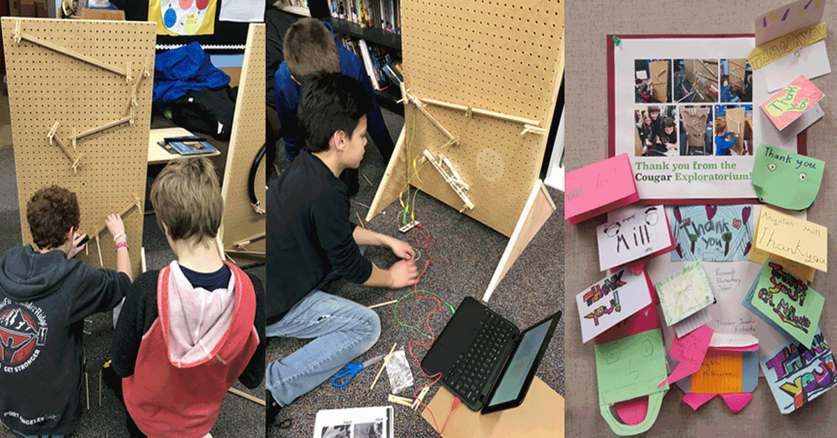 Makerspace Challenges Students with Process-Based Learning