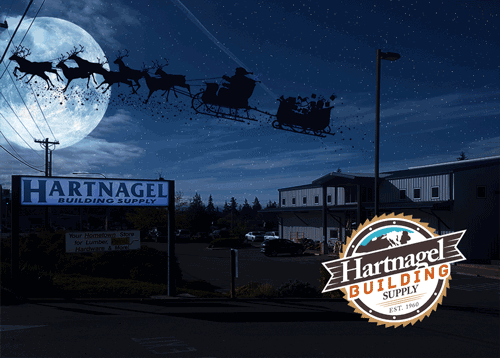 Christmas at Hartnagel Building Supply