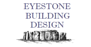 Eyestone Building Design Logo with Stonehenge