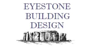 Eyestone Building Design Logo with Stonehenge