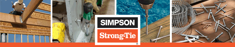 Power tools using Simpson Strong-Tie Fasteners