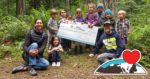 Raised Funds for Olympic Nature Experience Further Outdoor Learning