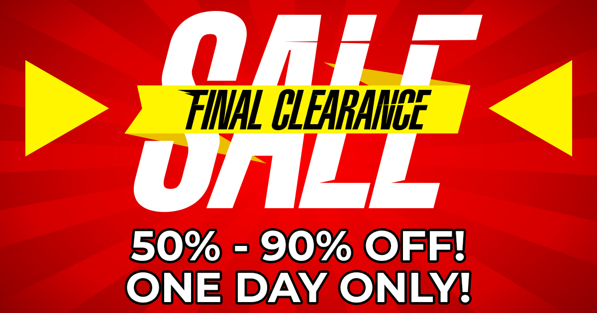 CLEARNACE SALE FEATURED IMAGE AND BANNER