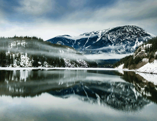 Winter Reflections  North Cascades, WA By Erica Towers