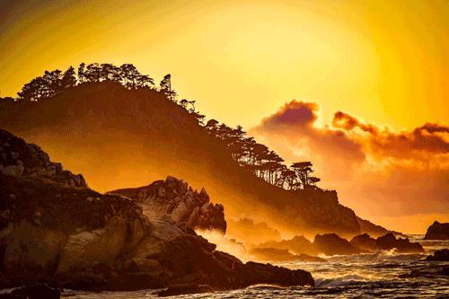 First Beach La Push, WA By Donna Geer