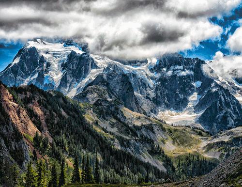 Mt. Shuksan View Artist's Point, WA By John Hummel