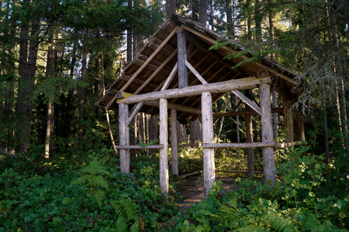 Blue Mountain Structure Port Angeles, WA By Laura Tucker