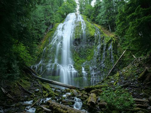 Proxy Falls Willamette Nat. Forest, WA By Mark Winterstein