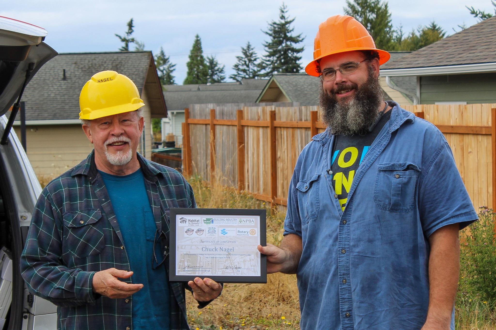 2020 Build Calss Chuck Certificate
