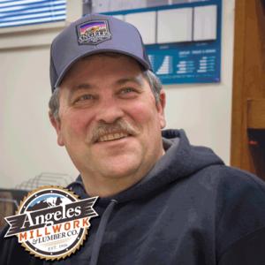 Smiling Contractor Salesman John Montgomery