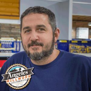 Smiling Contractor Salesman Mike Deese