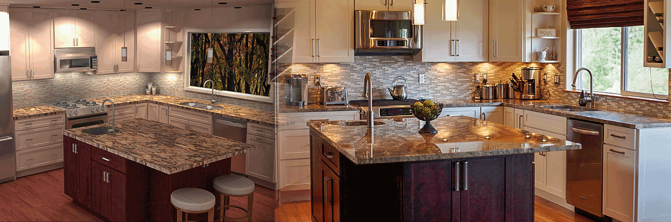 Kitchen Island and Cabinetry