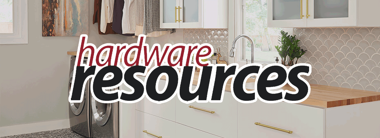 Hardware resources logo and kitchen