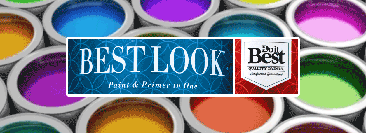 bEST LOOK PAINT AND PAINT CANS