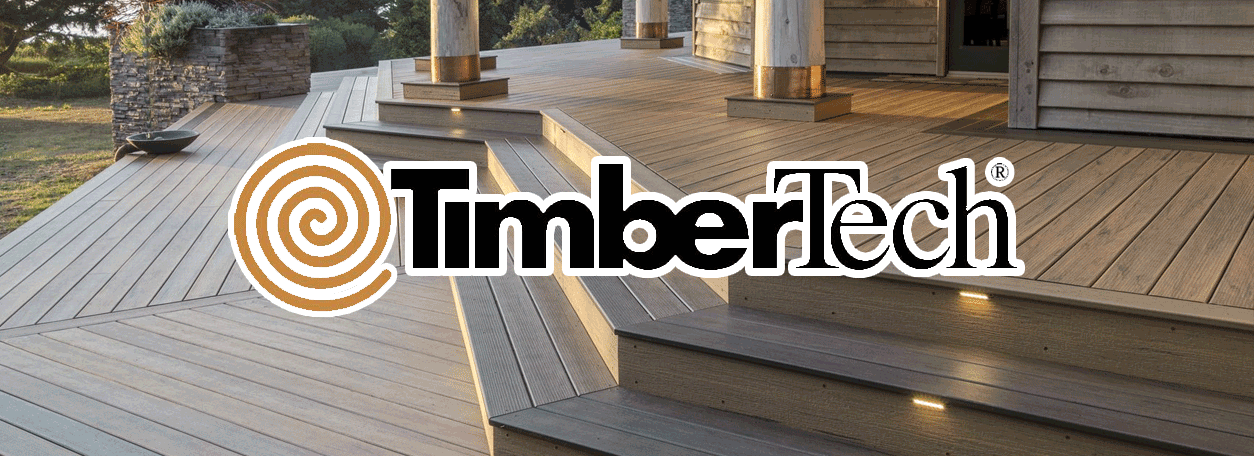 TimberTech Logo and deck