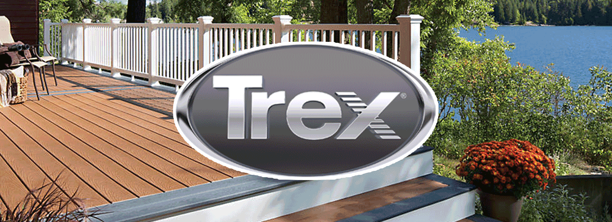 Trex Logo and Trex deck