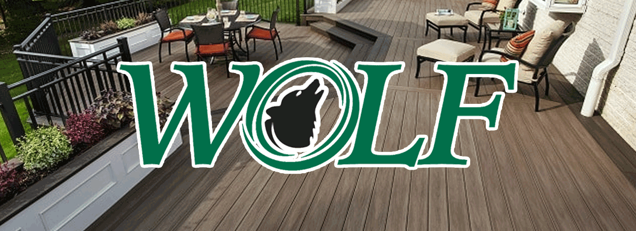 Wolf Decking Logo and deck