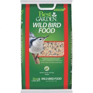 20LB WILD BIRD SEED $8.79 + 25% OFF!