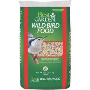 5LB WILD BIRD SEED $4.49 + 25% OFF!