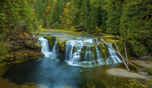 Allen Olivieri Go Chase Waterfalls Lower Lewis Falls Cougar WA