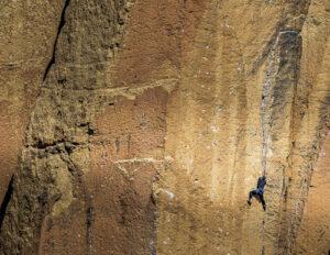 Dan Evans Jr Rock Climber Smith Rock Oregon
